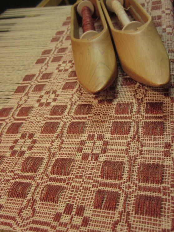 Coverlet Weaving 12