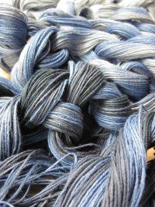 Warp yarn's are ready!