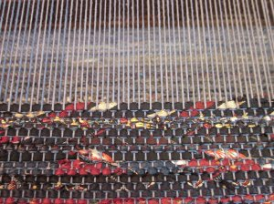 We're weaving, we're weaving...