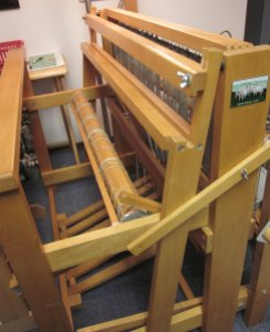 The loom's waiting anxiously...