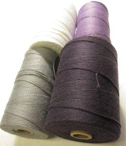Tubes of Cotton Yarn