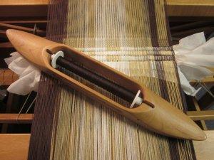 Dark brown sewing thread - check!