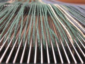 One yarn per dent - mostly