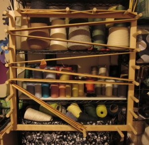 Back to the warping board!