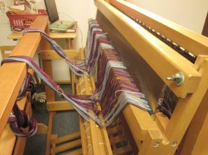Reed, meet the loom. Loom, reed.