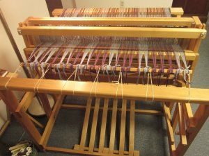 Ready to weave! Yay!