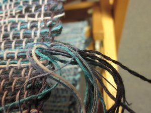 And then there are the ends of the weft!