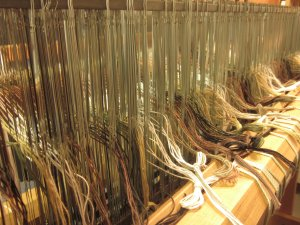 Hundreds of yarns are involved!