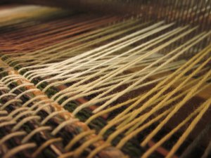 The rule of weaving - some are up, some are down!